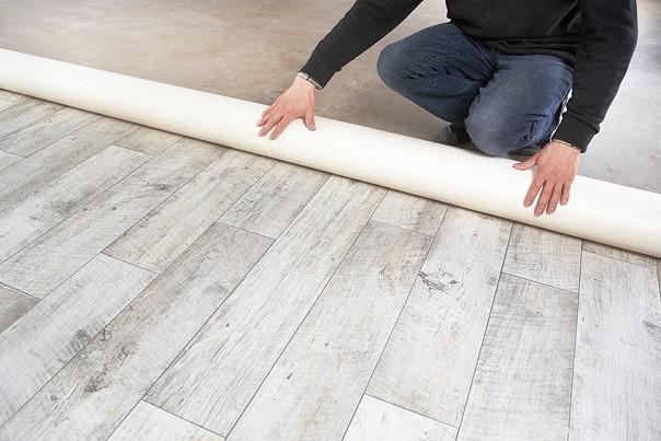 Teppich und PVC